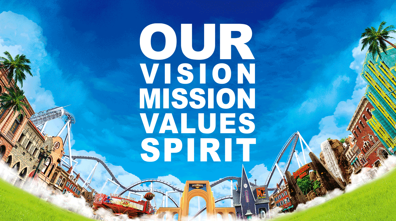 OUR VISION MISSION VALUES SPIRIT